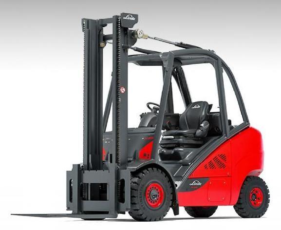 Linde H25  H30  H35 Lpg And Diesel Forklift Truck 393