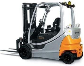 Still RX60-25, RX60-30,RX60-35 Electric Forklift Truck Ser.6321-6325,6361-6362,6364 Operating Manual