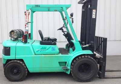 Mitsubishi FG35, FG40 Gasoline/LPG Forklift Truck Workshop Service Manual