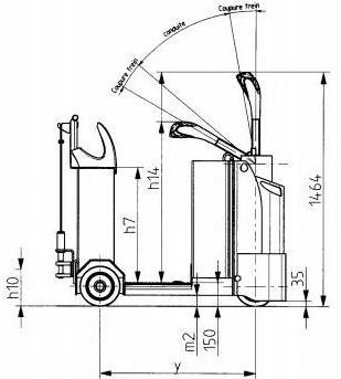 Linde P30 Electrical Tractor 141 Series Operating Instructions (User Manual)