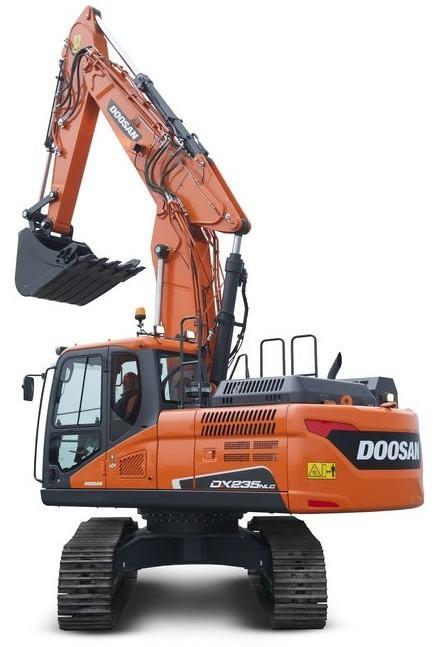 Doosan DX235NLC (SN. from 50001) Crawler Excavator Workshop Service Manual