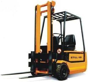 Still R20-15, R20-16, R20-17, R20-20 Electric Forklift Truck Ser.2001-2007 Workshop Service Manual