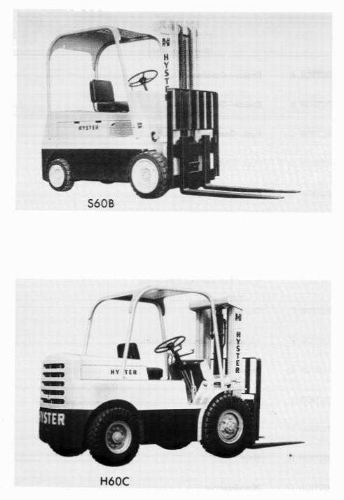 Hyster H100C, H120C, H60C, H70C, H80C Diesel/LPG Forklift Truck C005 Series Spare Parts Manual