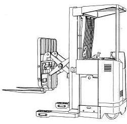 Yale NDR030AC/BC, NR035/040/045AC, NR035/045BC, NS040/050AD Reach Truck Service Maintenance Manual