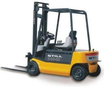 Still R20-14, R20-15, R20-16, R20-18, R20-20 Electric Forklift Truck Series 2037-2044 Parts Manual