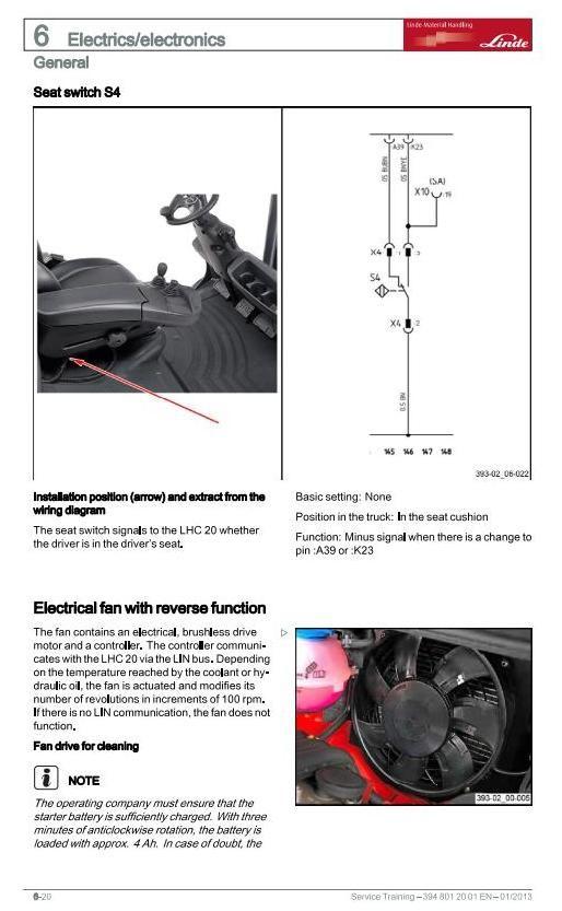 Fork Lift Electric Motor Wiring Diagram