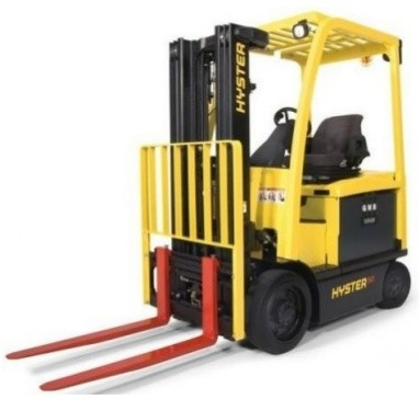Hyster E45XM, E50XM, E55XM, E60XM, E65XM Electric Forklift Truck F108 Serie Spare Parts Manual (USA)