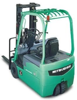 Mitsubishi FB16N, FB18N, FB20CN Electric Forklift Truck Workshop Service Manual