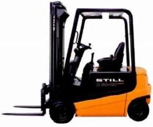 Still R60-16, R60-18, R60-20 Compact Electric Forklift Truck Series R6030-R6032 Operating Manuals