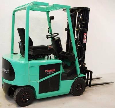 Mitsubishi FB16K, FB18K, FB20KC Electric Forklift Truck Workshop Service Manual