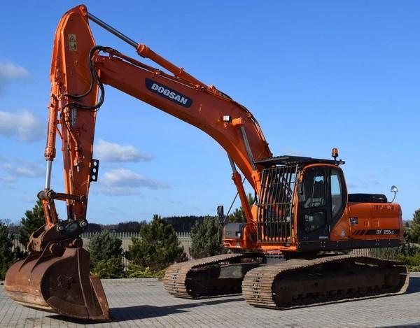 Doosan DX255LC (SN. from 5001) Crawler Excavator Workshop Service Manual