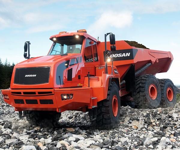 Doosan DA40-5 (SN. 821001 & up, 841001 & up) Articulated Dump Truck Workshop Service Manual