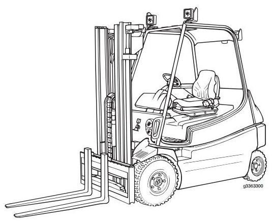 Linde E25S, E30S Explosion Protected Electric Forklift Truck 336-03 series Operating Instructions