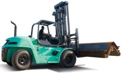 Mitsubishi FD100N, FD120N, FD135N, FD150AN, FD160AN Diesel Forklift Truck Workshop Service Manual