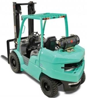 Mitsubishi FG40K, FG40KL, FG45K, FG50K Gasoline/LPG Forklift Truck Workshop Service Manual