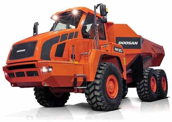 Doosan DA30 Articulated Dump Truck Workshop Service Manual