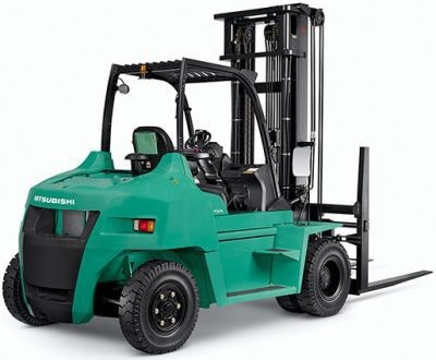 Mitsubishi FD70N (AF20D-10011-up) Diesel Forklift Truck Operating and Maintenance Instructions