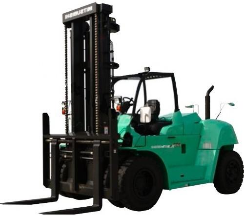 Mitsubishi FD100N1, FD120N1, FD130N1, FD150AN1, FD160AN1 Diesel Forklift Truck Operating Manual