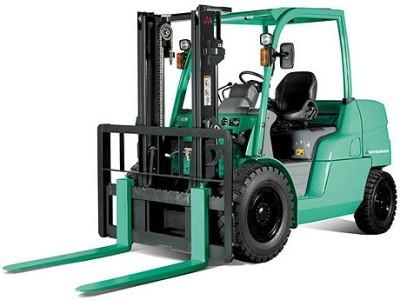 Mitsubishi FD40N, FD45N, FD50CN, FD50N, FD55N Diesel Forklift Truck Workshop Service Manual