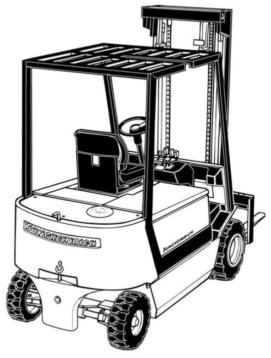 Jungheinrich EFG-V20L, EFG-V25, EFG-V25L, EFG-V30 Electric ForkLift Truck Workshop Service Manual
