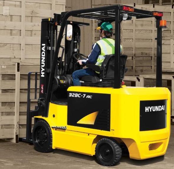 Hyundai 20BC-7, 25BC-7, 30BC-7, 32BC-7 Electric Forklift Truck Workshop Service Manual