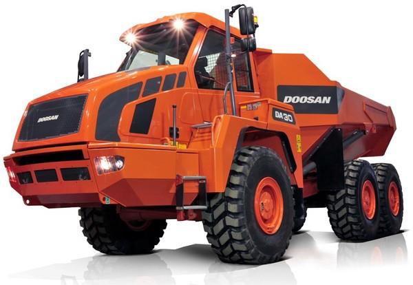 Doosan DA30-5 Articulated Dump Truck Workshop Service Manual