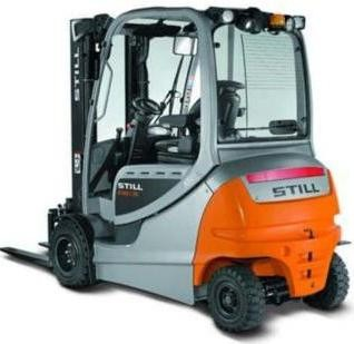 Still RX60-25, RX60-30, RX60-35 Electric Forklift Truck Series 6345-6348, 6353-6356 Operating Manual