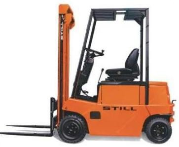 Still R60-35, R60-40 Electric Forklift Truck Series 6015, 6016 Spare Parts List