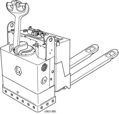 Linde T20, T30 Explosion Protected Pallet Stacker 362 Series Operating Instructions (User Manual)