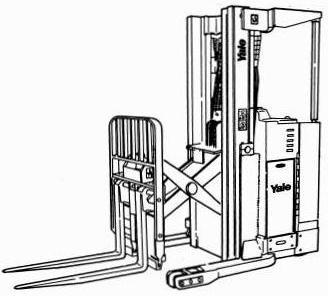 Yale NR030/035/040/045, NDR 030/035/040/045 NS 030/035/040/045 Reach Truck Workshop Service Manual