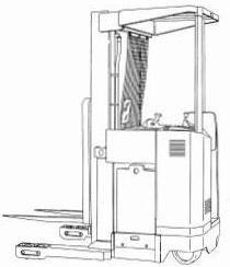 Yale NDR030AD, NR035AD, NR040AD, NR045AD, NS040AE, NS050AE Lift Truck B815, B816 Ser. Service Manual