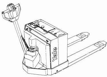 Yale MP040AC, MPB040AC Pallet Truck A827 Series Workshop Service Maintenace Manual