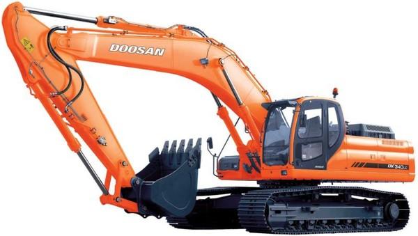 Doosan DX340LC (SN from 5001) Crawler Excavator Workshop Service Manual