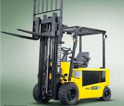 Hyundai 20BH-7, 25BH-7, 30BH-7 Electric Forklift Truck Workshop Service Manual