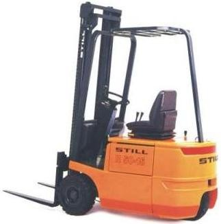 Still R50-10, R50-12, R50-15 Electric ForkLift Truck Series 5041, 5042, 5043 5044 Spare Parts Manual
