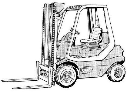 Linde H20D, H25D, H30D Diesel Forklift Truck 351-02 se