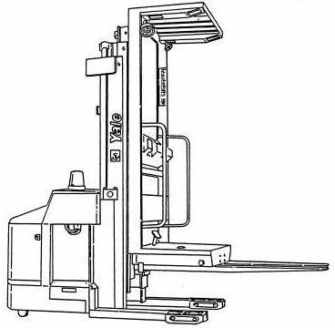 Yale OS030EA High Lift Order Selector Workshop Service Maintenance Manual