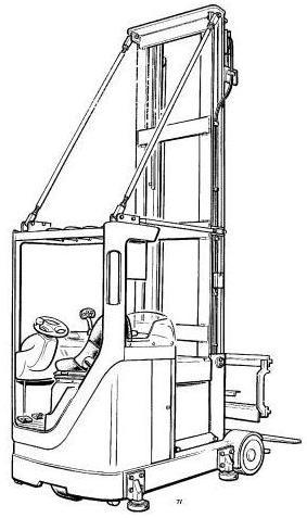 Linde A10 Turret Truck 040 Series Service Training (Workshop) Manual
