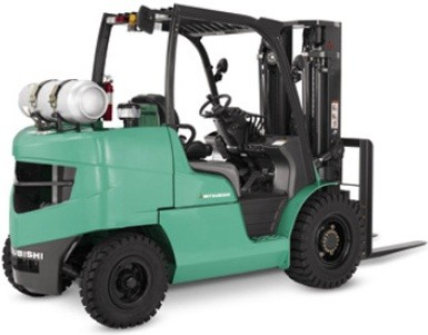 Mitsubishi Gasoline/LPG Forklift Truck FG40N, FG45N, FG50CN, FG50N, FG55N Workshop Service Manual