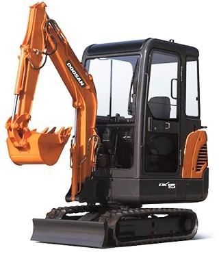 Doosan DX15, DX18 (SN. from 40001) Mini Excavator Workshop Service Manual