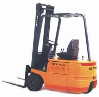 Still R50-10, R50-12, R50-15 Electric ForkLift Truck Series R5041-R5044 Operating Maintenance Manual