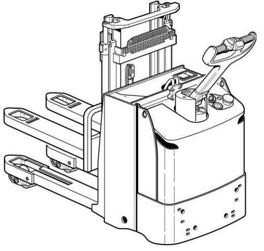 Linde L12L, L12LP Pallet Truck 141 Series Operating and Maintenance Instructions