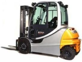 Still RX60-40, RX60-45, RX60-50 Electric Forklift Truck Series 6327, 6328,6329,6330 Operating Manual