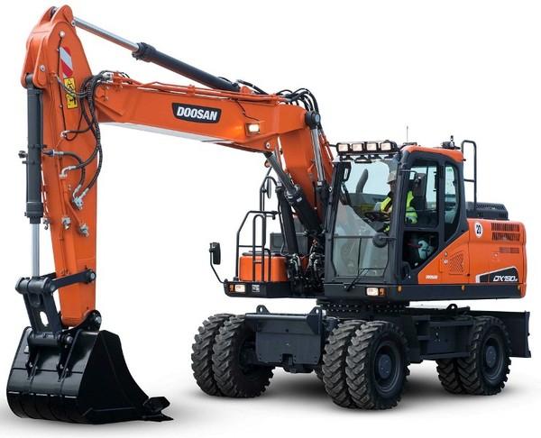 Doosan DX210W (SN. from 5001) Wheeled Excavator Workshop Service Manual
