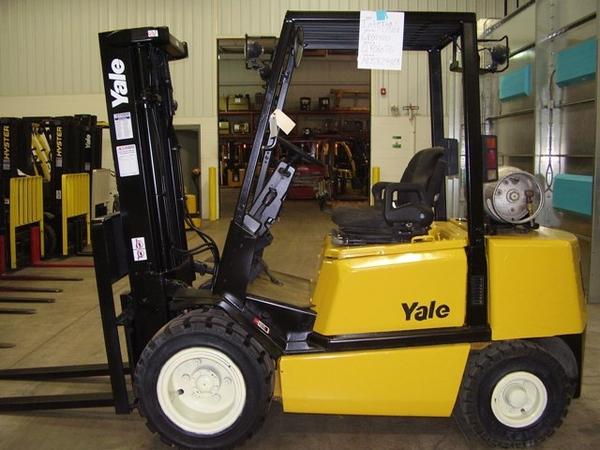 Yale GDP/GLP 20RF, 20TF, 25RF, 25TF, 30RF, 30TF Forklift Truck E177 Series Spare Parts Manual (EU)