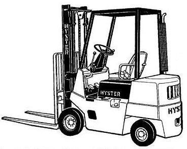 Hyster S1.25XL, S1.50XL, S1.75XL, H1.25XL, H1.50XL,H1.75XL Forklift Truck C001 Series Service Manual