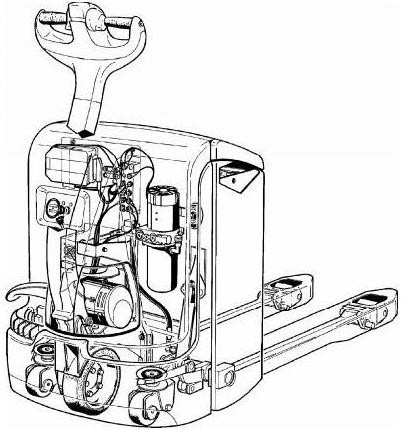 Linde T16, T18, T20 Electric Pallet Truck 360 Series Service Training (Workshop) Manual