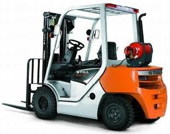 Still RC41-25T, RC41-30T LPG Forklift Truck Series 4094, 4095 Operating and Maintenance Instructions