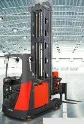 Linde Model A Racking (Turret) Truck 5222 Series Operating Instructions (User Manual)