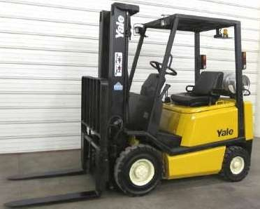 Yale GP030AF, GP040AF, GLP030AF, GLP040AF LPG USA Forklift Truck B810 Series Workshop Service Manual